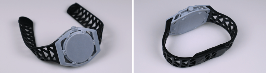 Rubber-like 3D Printed parts